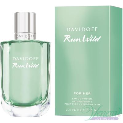 Davidoff Run Wild for Her EDP 100ml за Жени Дамски Парфюми