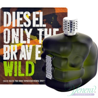 Diesel Only The Brave Wild EDT 75ml за Мъже Мъжки Парфюми