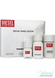 Diesel Plus Plus Set (EDT 75ml + Deo Stick 75ml + EDT 30ml) για άνδρες