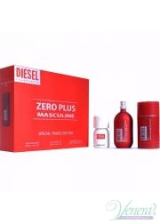 Diesel Zero Plus Set (EDT 75ml + Deo Stick 75ml + Plus Plus EDT 30ml) για άνδρες