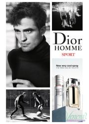 Dior Homme Sport Very Cool Spray EDT 100ml για άνδρες Ανδρικά Αρώματα