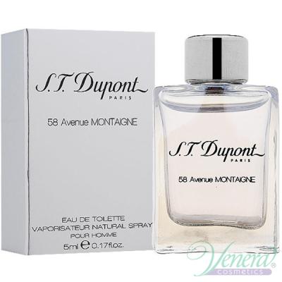 S.T. Dupont 58 Avenue Montaigne EDT 5ml за Мъже Мъжки Парфюми