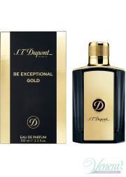 S.T. Dupont Be Exceptional Gold EDT 50ml για άνδρες Ανδρικά Αρώματα