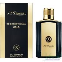 S.T. Dupont Be Exceptional Gold EDT 100ml for Men Men's Fragrance