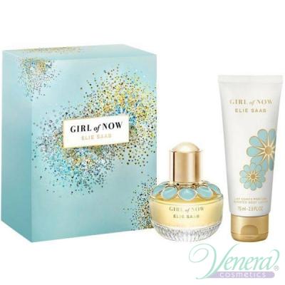 Elie Saab Girl of Now Set (EDP 30ml + BL 75ml) pentru Femei Women's Gift Sets