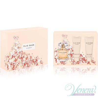 Elie Saab Le Parfum Комплект (EDP 90ml + BL 75ml + SG 75ml) за Жени Дамски Комплекти