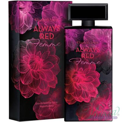 Elizabeth Arden Always Red Femme EDT 100ml за Жени БЕЗ ОПАКОВКА Дамски Парфюми без опаковка