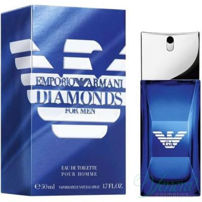 Emporio Armani Diamonds Club for Him EDT 50ml за Мъже Мъжки Парфюми