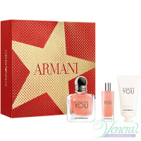 Emporio Armani In Love With You Set (EDP 50ml + EDP 15ml + Hand Cream 50ml) pentru Femei Seturi