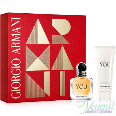 Emporio Armani Because It's You Set (EDP 3...