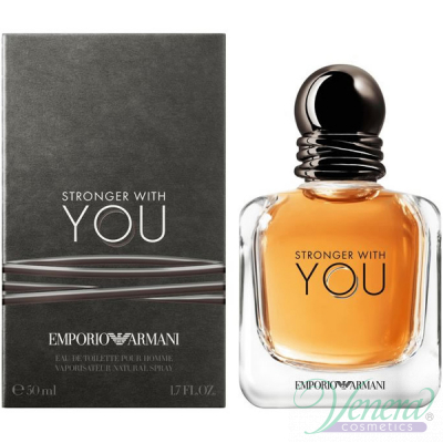Emporio Armani Stronger With You EDT 50ml за Мъже Мъжки Парфюми