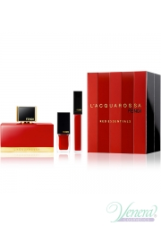 Fendi L' Acquarossa Set (EDP 50ml + Nail Polish + Lip Gloss) για γυναίκες Γυναικεία Σετ