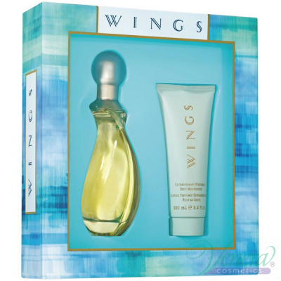 Giorgio Beverly Hills Wings Комплект (EDT 90ml + BL 100ml) за Жени