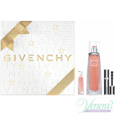 Givenchy Live Irresistible Set (EDP 50ml + EDP 3ml + Mascara 4g) pentru Femei Women's Gift sets