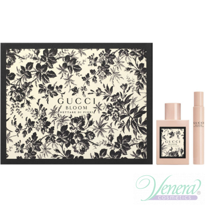 Gucci Bloom Nettare di Fiori Комплект (EDP 50ml + EDP 7.4ml) за Жени Дамски Комплекти