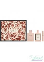 Gucci Bloom Set (EDP 100ml + EDP 7,4ml + BL 100ml) για γυναίκες Γυναικεία Σετ