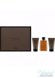 Gucci Guilty Absolute Set (EDP 50ml + AS Balm 50ml + SG 50ml) για άνδρες Men's Gift sets