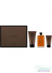 Gucci Guilty Absolute Set (EDP 90ml + AS Balm 50ml + SG 150ml) για άνδρες Men's Gift sets