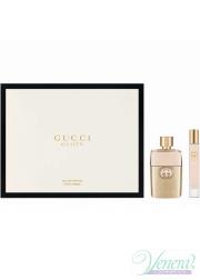 Gucci Guilty Eau de Parfum Set (EDP 50ml + EDP 7,4ml Roller Ball) για γυναίκες Γυναικεία Σετ