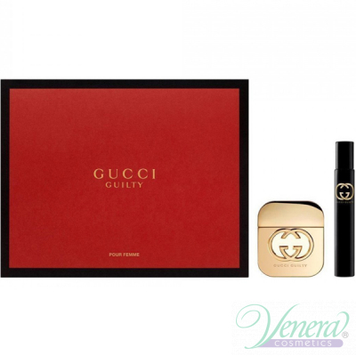 Gucci Guilty комплект (EDT 50ml + EDT 7.4m...