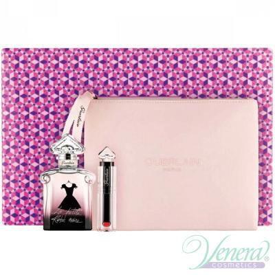 Guerlain La Petite Robe Noire Комплект (EDP 50ml + Lipstick + Bag) за Жени