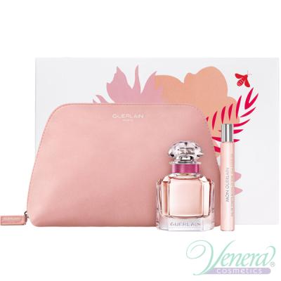 Guerlain Mon Guerlain Bloom of Rose Комплект (EDT 50ml + EDT 10ml + Bag) за Жени Дамски Комплекти