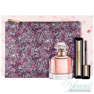 Guerlain Mon Guerlain Florale Комплект (EDP 50ml + Mascara 8,5ml + Bag) за Жени