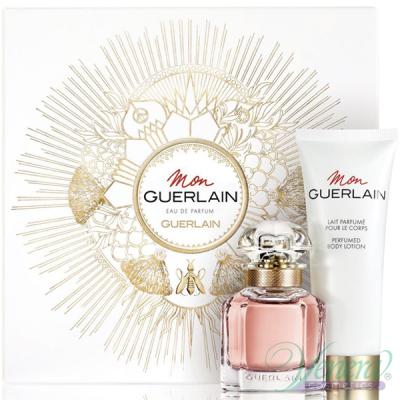 Guerlain Mon Guerlain Комплект (EDP 30ml + BL 75ml) за Жени Дамски Комплекти