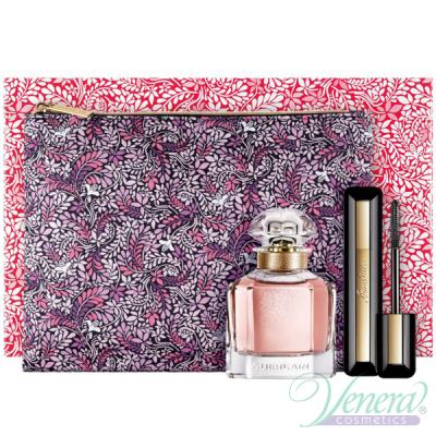 Guerlain Mon Guerlain Комплект (EDP 50ml + Mascara 8,5ml + Bag) за Жени Дамски Комплекти