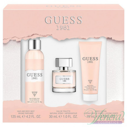 Guess 1981 Set Edt 30ml Body Lotion 75ml Body Mist 125ml