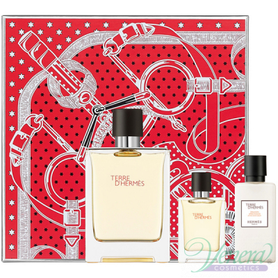 Hermes Terre D'Hermes Комплект (EDT 100ml + EDT 12.5ml + After Save Balm 40ml) за Мъже За Мъже