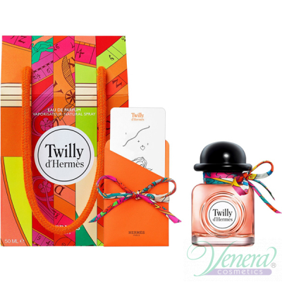 Hermes Twilly d'Hermes Комплект (EDP 50ml + Knotting Card + Silk Tie) за Жени