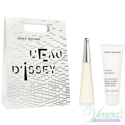 Issey Miyake L'Eau D'Issey Set (EDT 25ml + BL 75ml) pentru Femei Women's Gift sets