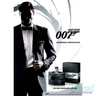 James Bond 007 EDT 75ml pentru Bărbați fără de ambalaj Products without package
