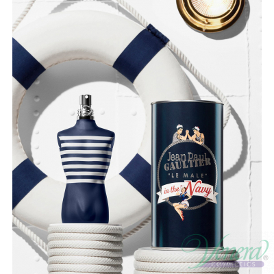 Jean Paul Gaultier Le Male In The Navy EDT 125ml за Мъже Мъжки Парфюми