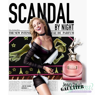 Jean Paul Gaultier Scandal By Night EDP 80ml за Жени Дамски Парфюми