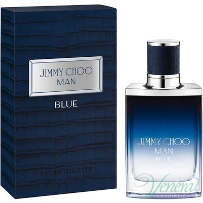 Jimmy Choo Man Blue EDT 50ml за Мъже Мъжки Парфюми