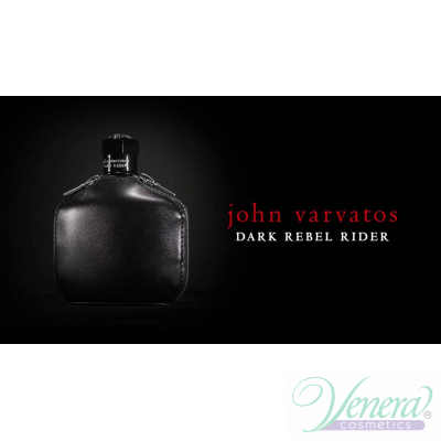 John Varvatos Dark Rebel Rider EDT 125ml за Мъже БЕЗ ОПАКОВКА Мъжки Парфюми без опаковка