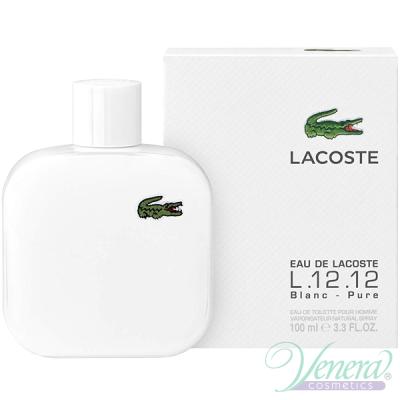 Lacoste L 12.12 Blanc EDT 100ml за Мъже За Мъже