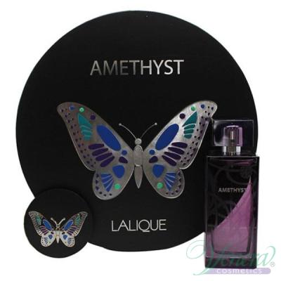 Lalique Amethyst Комплект (EDP 100ml + Mirror) за Жени Дамски Комплекти
