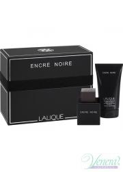 Lalique Encre Noire Set (EDT 100ml + SG 150ml) για άνδρες Αρσενικά Σετ
