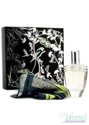 Lalique Fleur De Cristal Set (EDP 100ml + Scarf) για γυναίκες Women's Gift sets