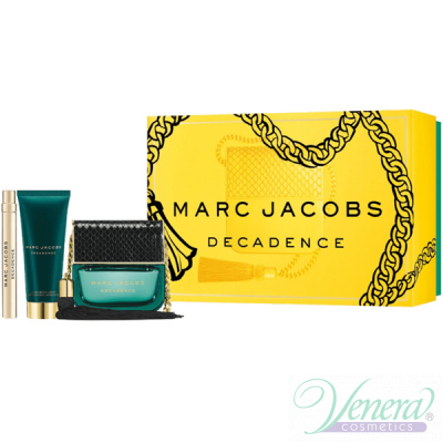 Marc Jacobs Decadence Комплект (EDP 100ml + BL 75ml + EDP Roller Ball 10ml) за Жени Дамски Комплекти
