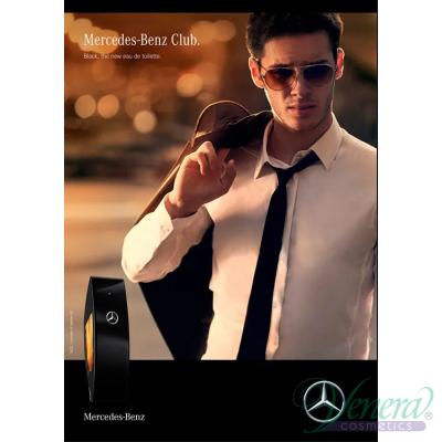 Mercedes-Benz Club Black EDT 50ml за Мъже Мъжки Парфюми