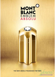 Mont Blanc Emblem Absolu Set (EDT 100ml  + EDT 7.5ml + SG 100ml) για άνδρες Ανδρικά Σετ