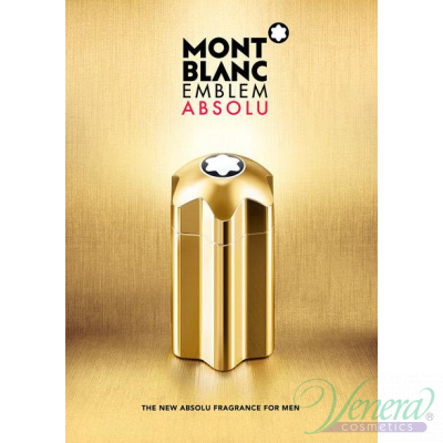 Mont Blanc Emblem Absolu EDT 100ml for Men Men's Fragrance
