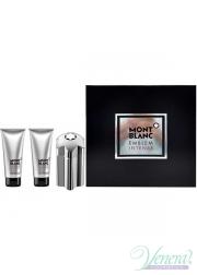 Mont Blanc Emblem Intense Set (EDT 100ml + AS Balm 100ml + SG 100ml) για άνδρες Men's Gift sets