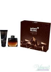 Mont Blanc Legend Night Set (EDP 50ml + SG 100ml) για άνδρες Men's Gift sets