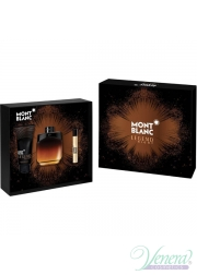 Mont Blanc Legend Night Set (EDP 100ml + EDP 7.5ml + AS Balm 100ml) για άνδρες Ανδρικά Σετ