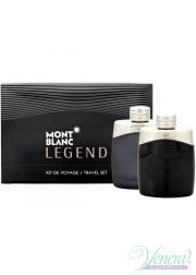 Mont Blanc Legend Set (EDT 100ml + AS Loti...